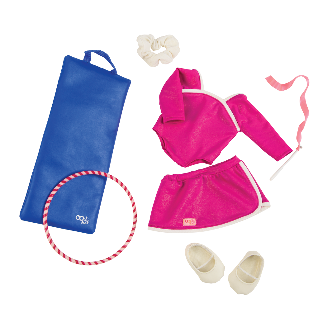 Jump and Twirl outfit Bundle gymnast set