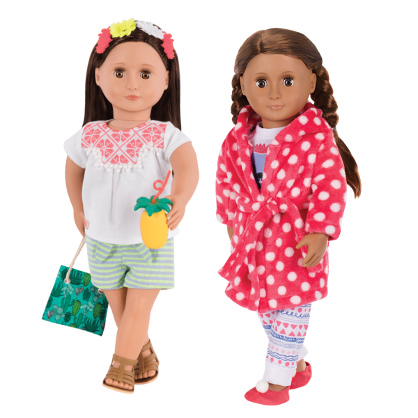 Cuddles and Fun outfit bundle Nicola and Catarina wearing