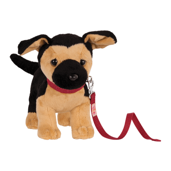 6-inch Posable Plush German Shepherd Pup