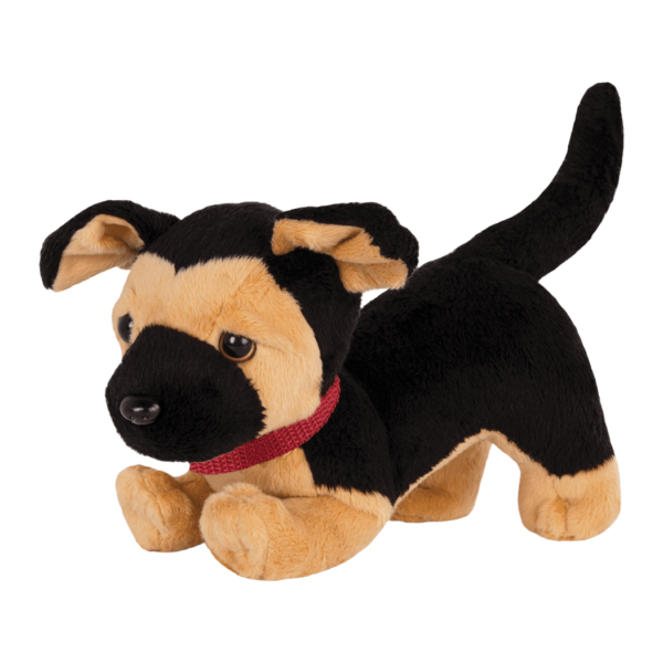 German Shepherd Pup posable paws bent01