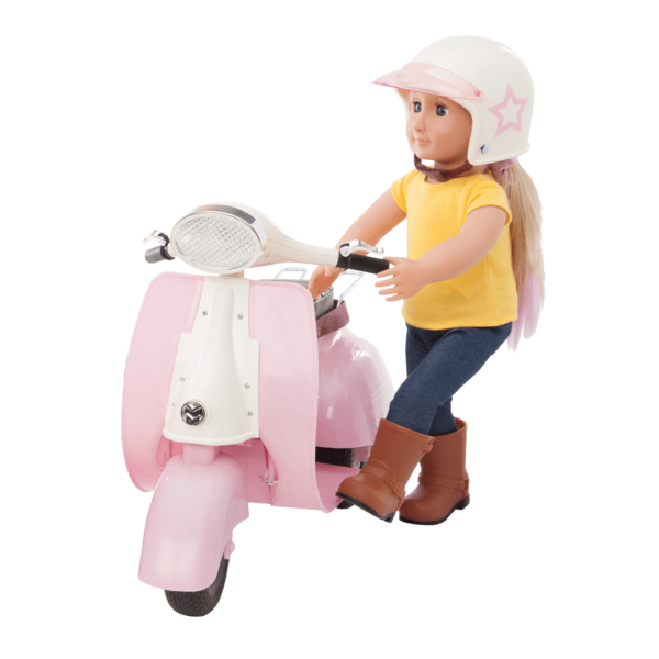 Ride in Style pink and ivory Layla riding01