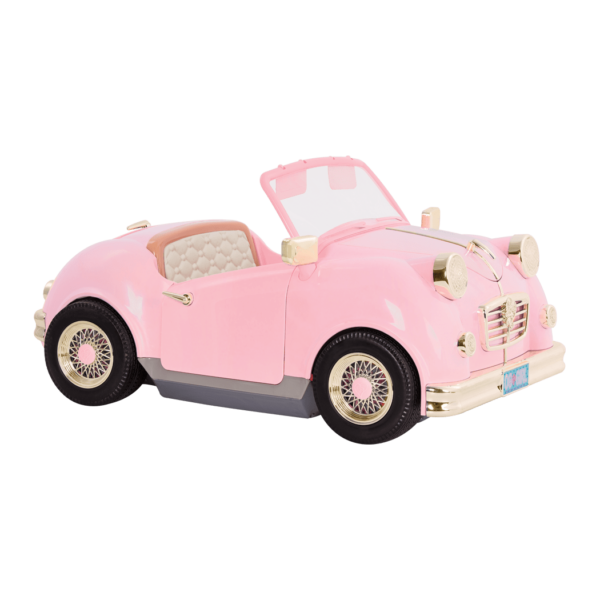 In the Drivers Seat Retro Cruiser Pink