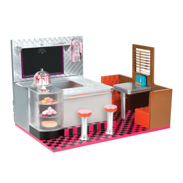 Bite to Eat Retro Diner for 18-inch Dolls