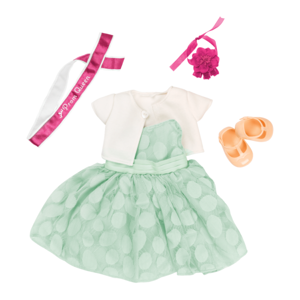 Prom Dreams Retro Party Outfit for 18-inch Dolls