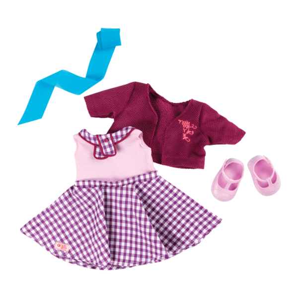 Sweet Memories Gingham Dress