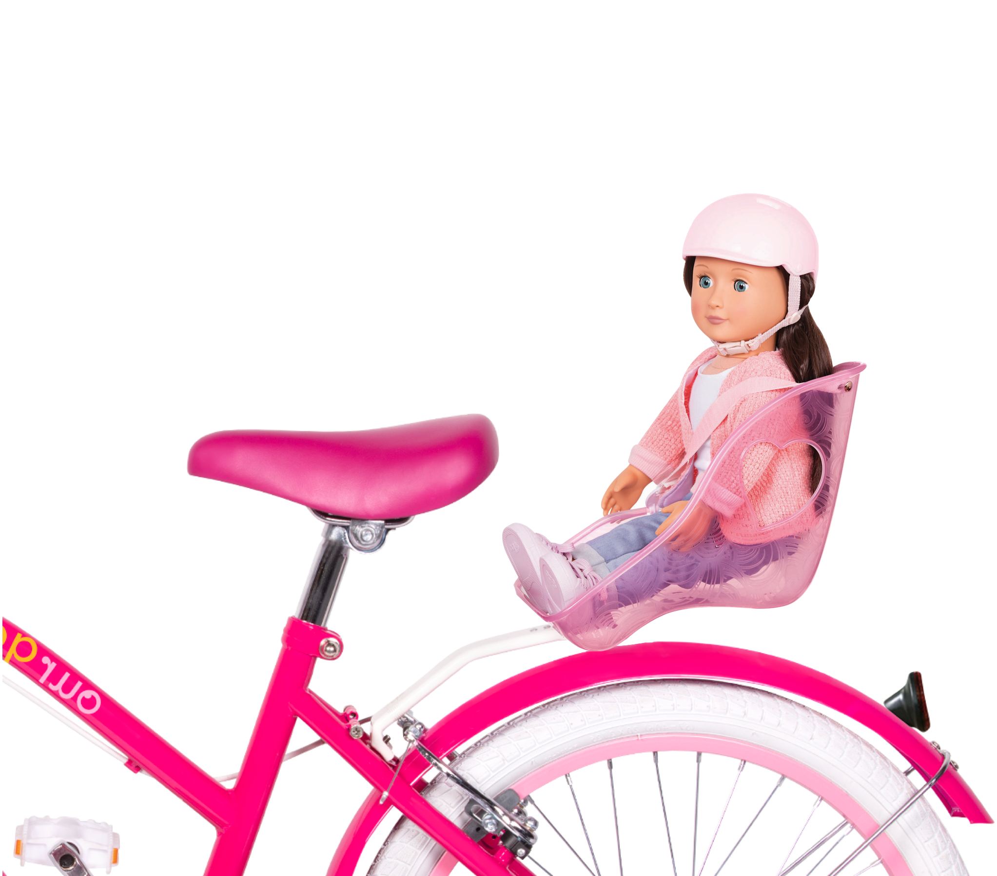 OG Bicycle for kids Marley riding in doll seat01