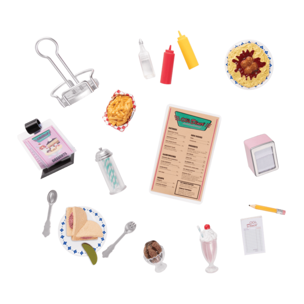 Today's Special Diner Accessories for 18-inch Dolls