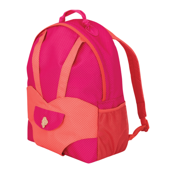 Hop On Carrier Backpack Bright Dots