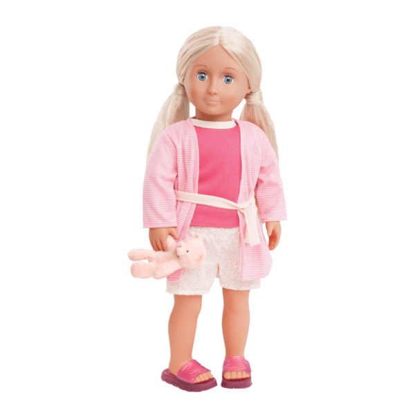 Kiana wearing Summer Sleepover Pajama Outfit