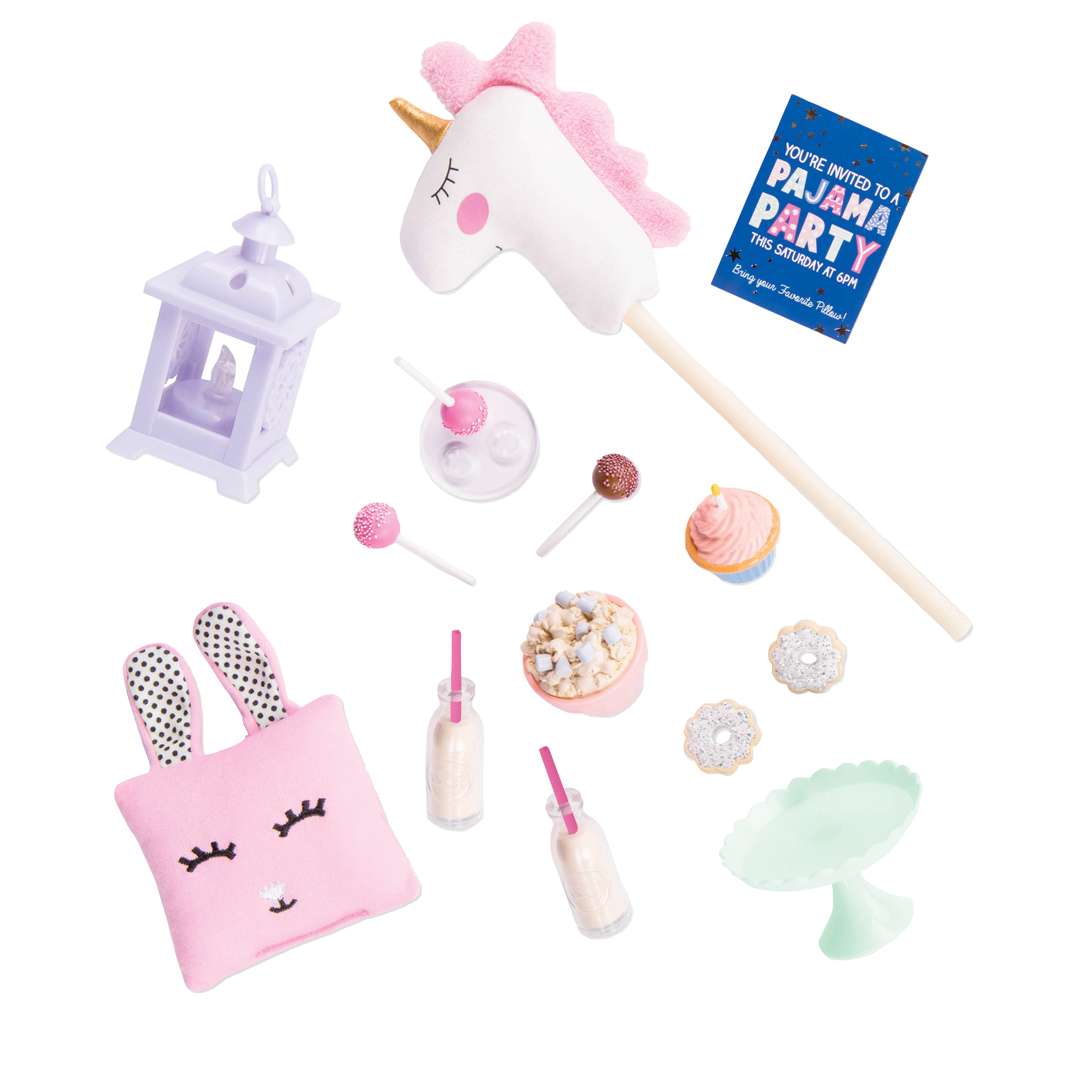Throw a magical sleepover with the Unicorn Sleepover Party Set!