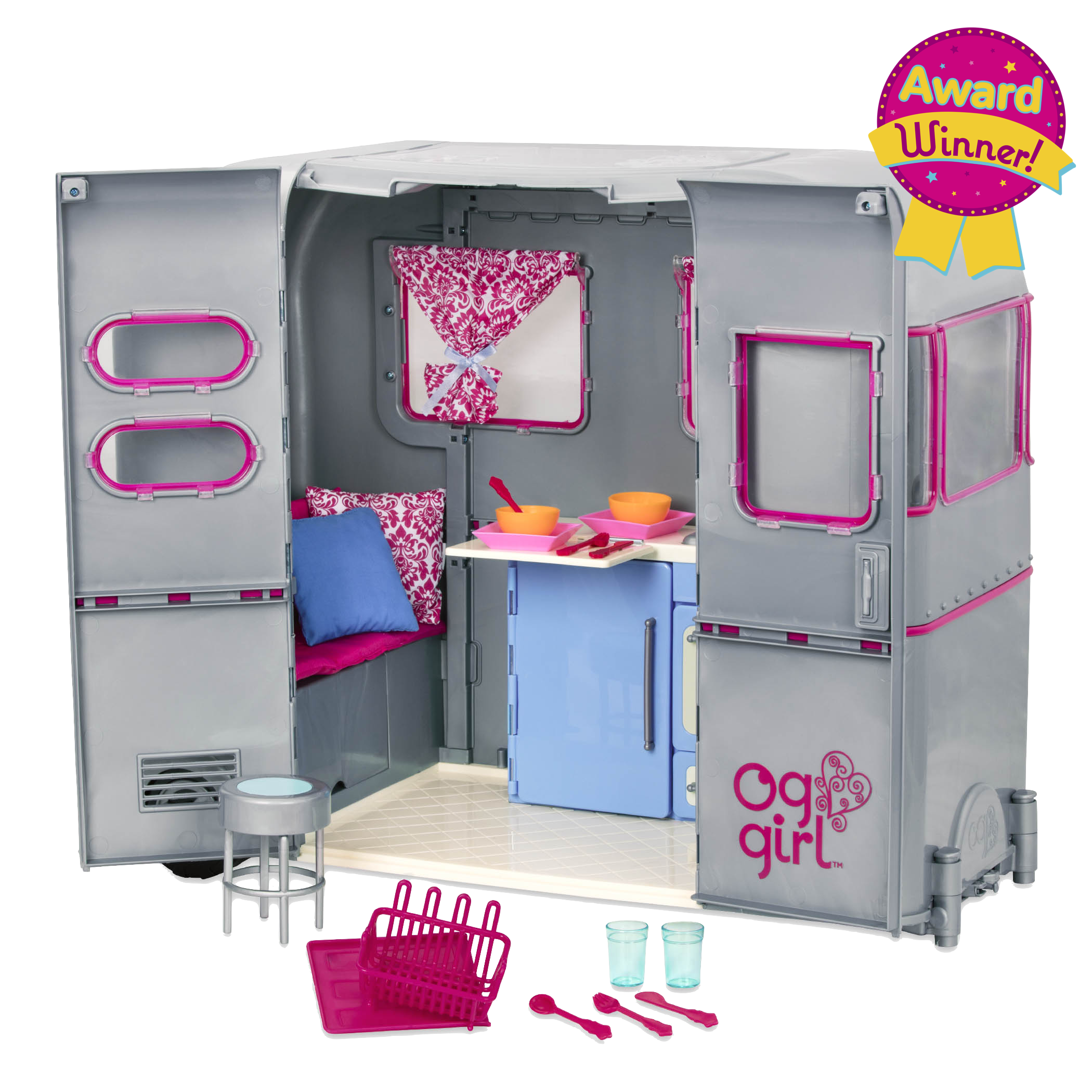 RV Seeing You Camper for 18-inch Dolls - Award Winner!