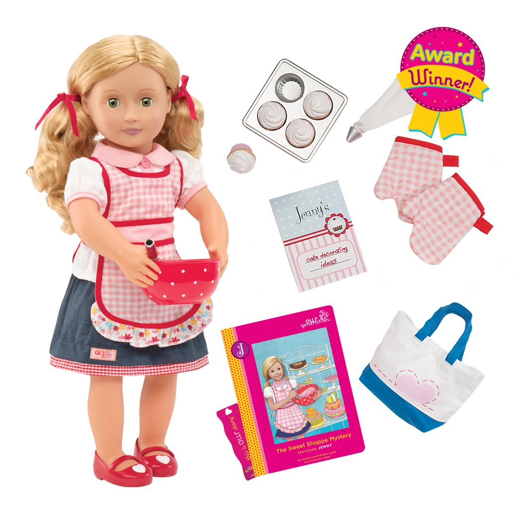 Jenny - Original 18-inch Deluxe Baking Doll - Award Winner!