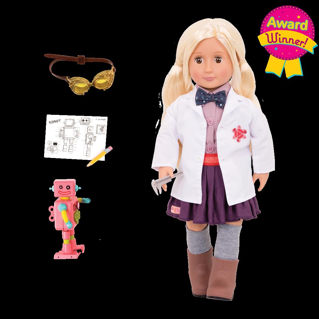 Amelia 18-inch Inventor Doll - Award Winner!