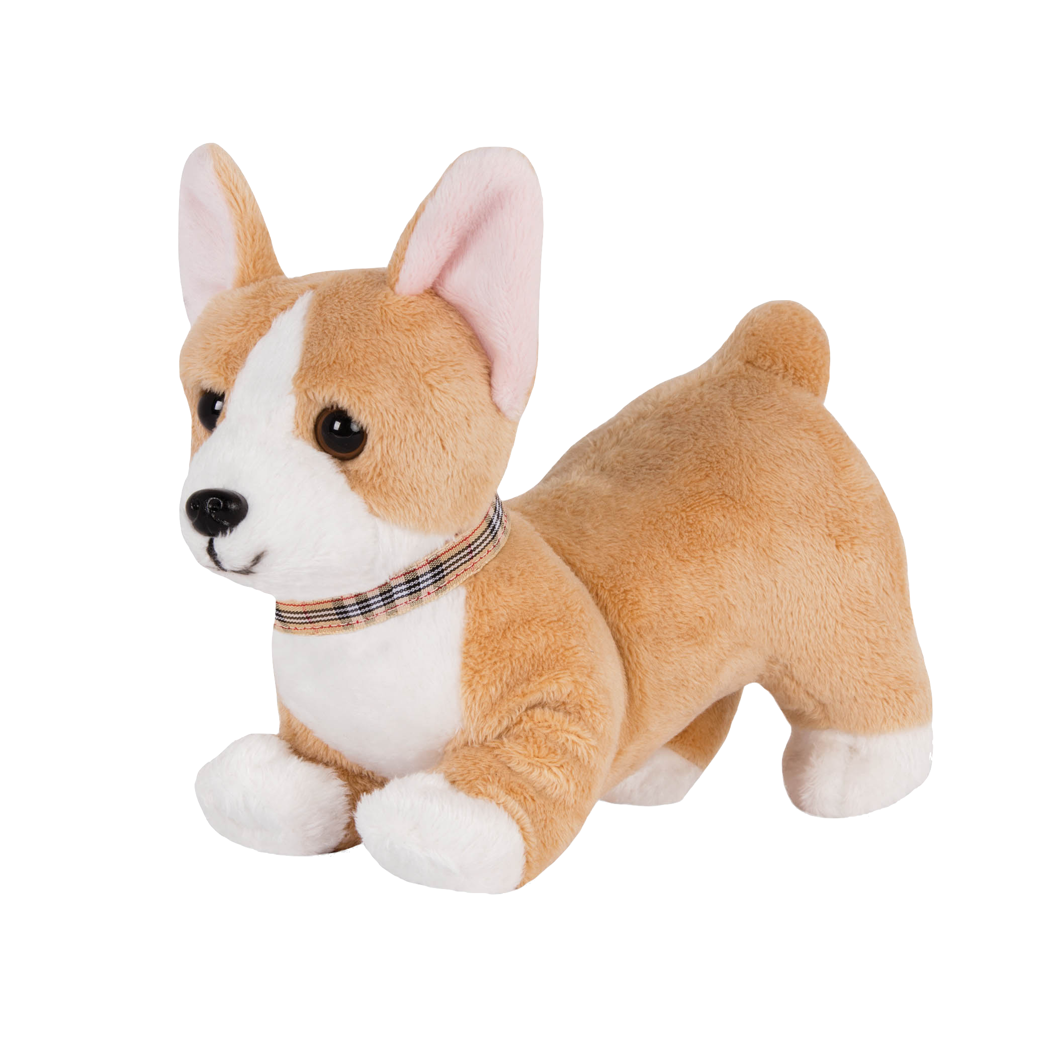 Posable Corgi Pup 6-inch Toy Dog