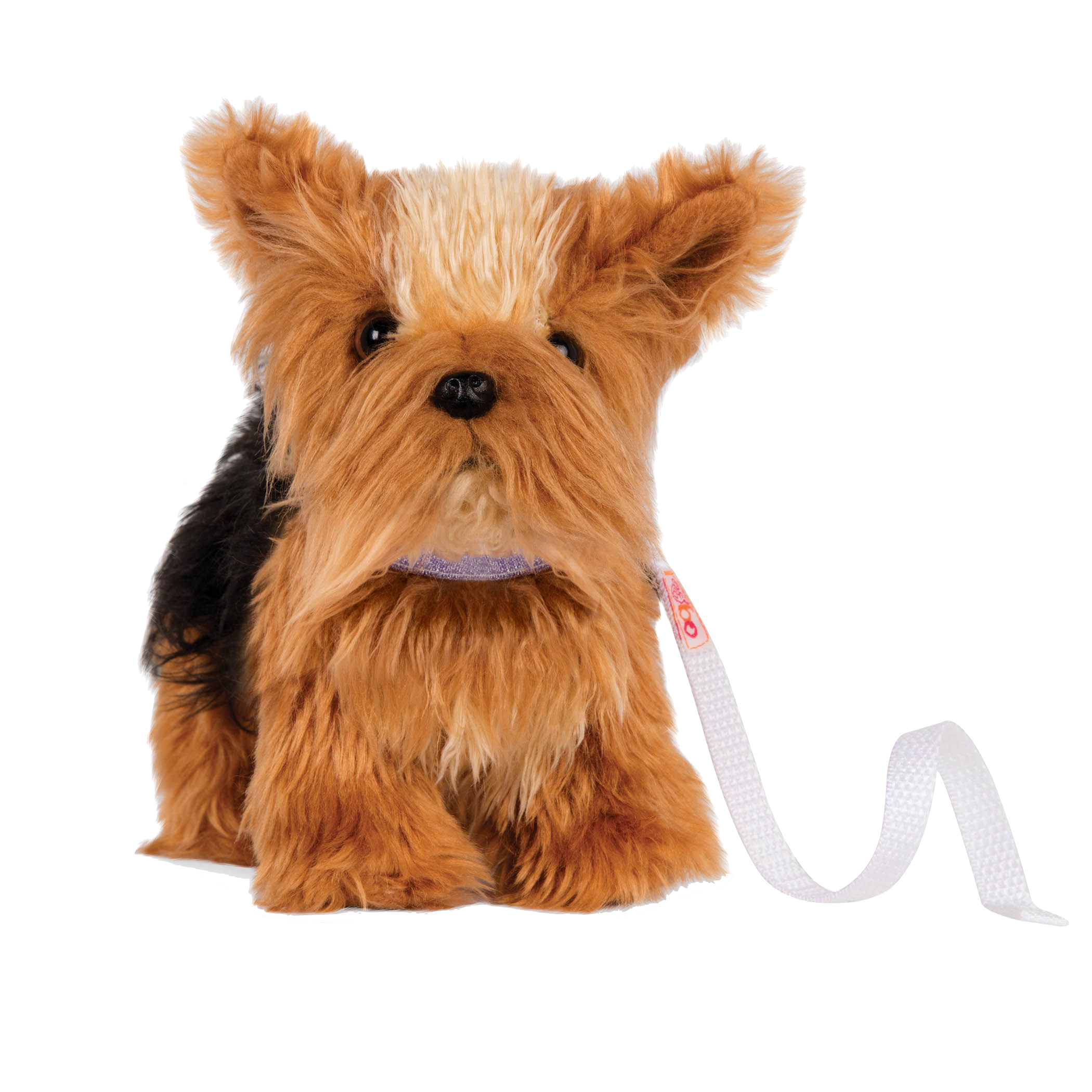 6-inch Posable Yorkshire Terrier Pup for 18-inch Dolls