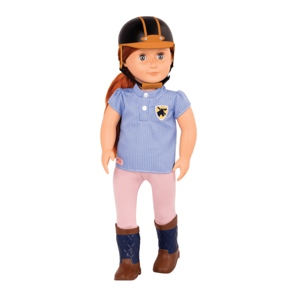 Elliet 18-inch Riding Doll