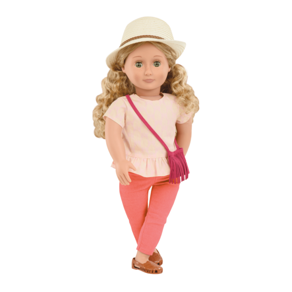 Brielle 18-inch Summer Doll with Hat