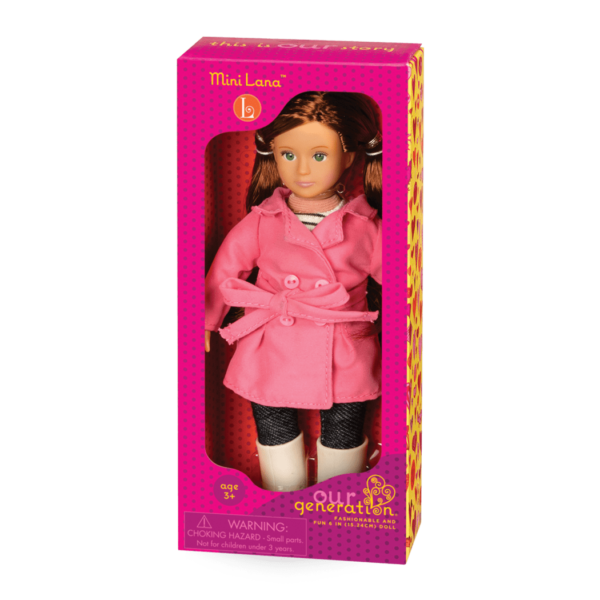 BD33007A Mini Lana 6 inch Doll package