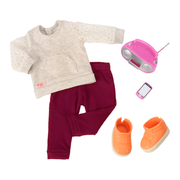 Free Style Dance Outfit for 18-inch Dolls