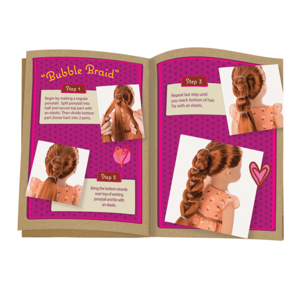 BD31071 Patrice Hairplay Doll style guide