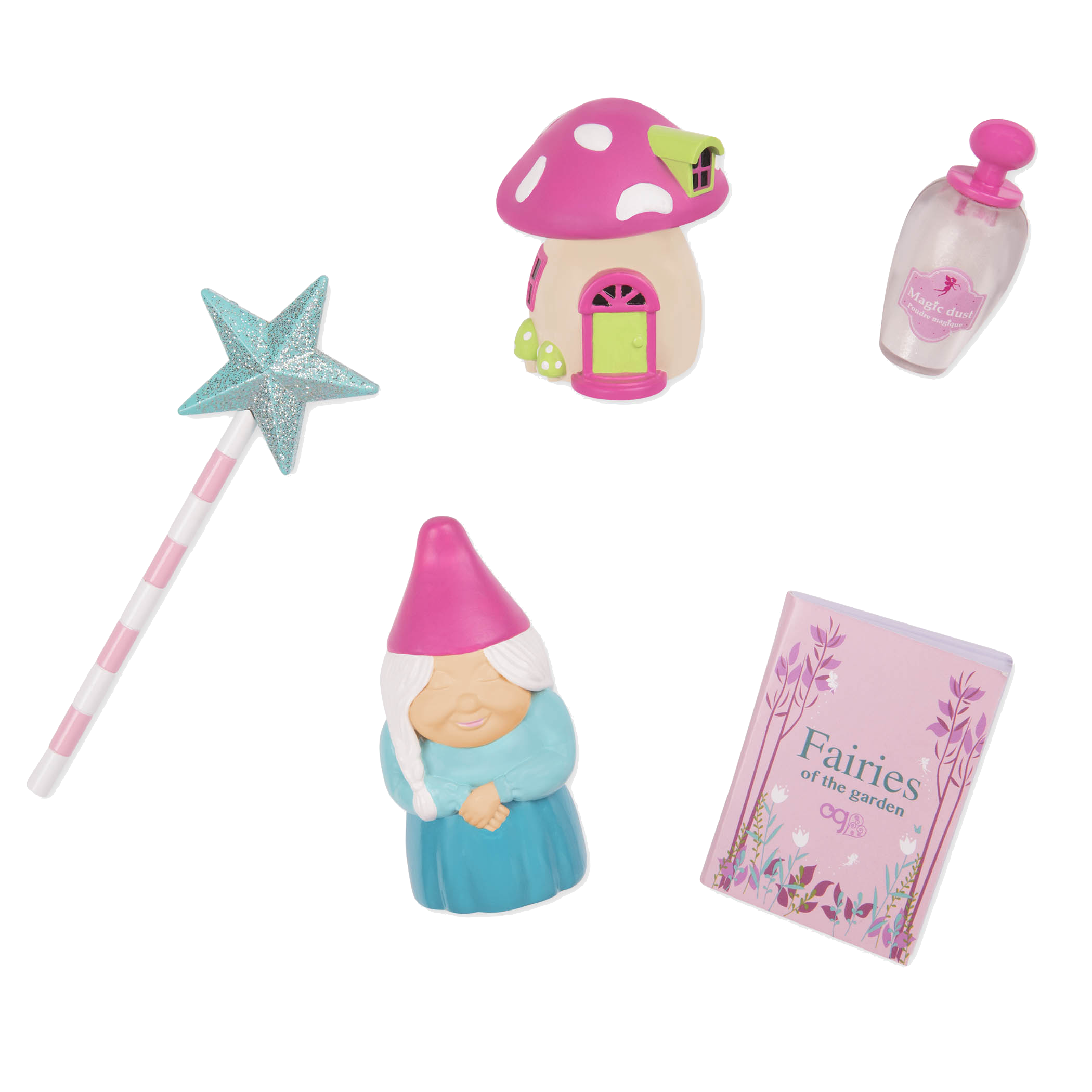 Gnome Sweet Home Accessory Set - Garden Tools for 18-inch dolls