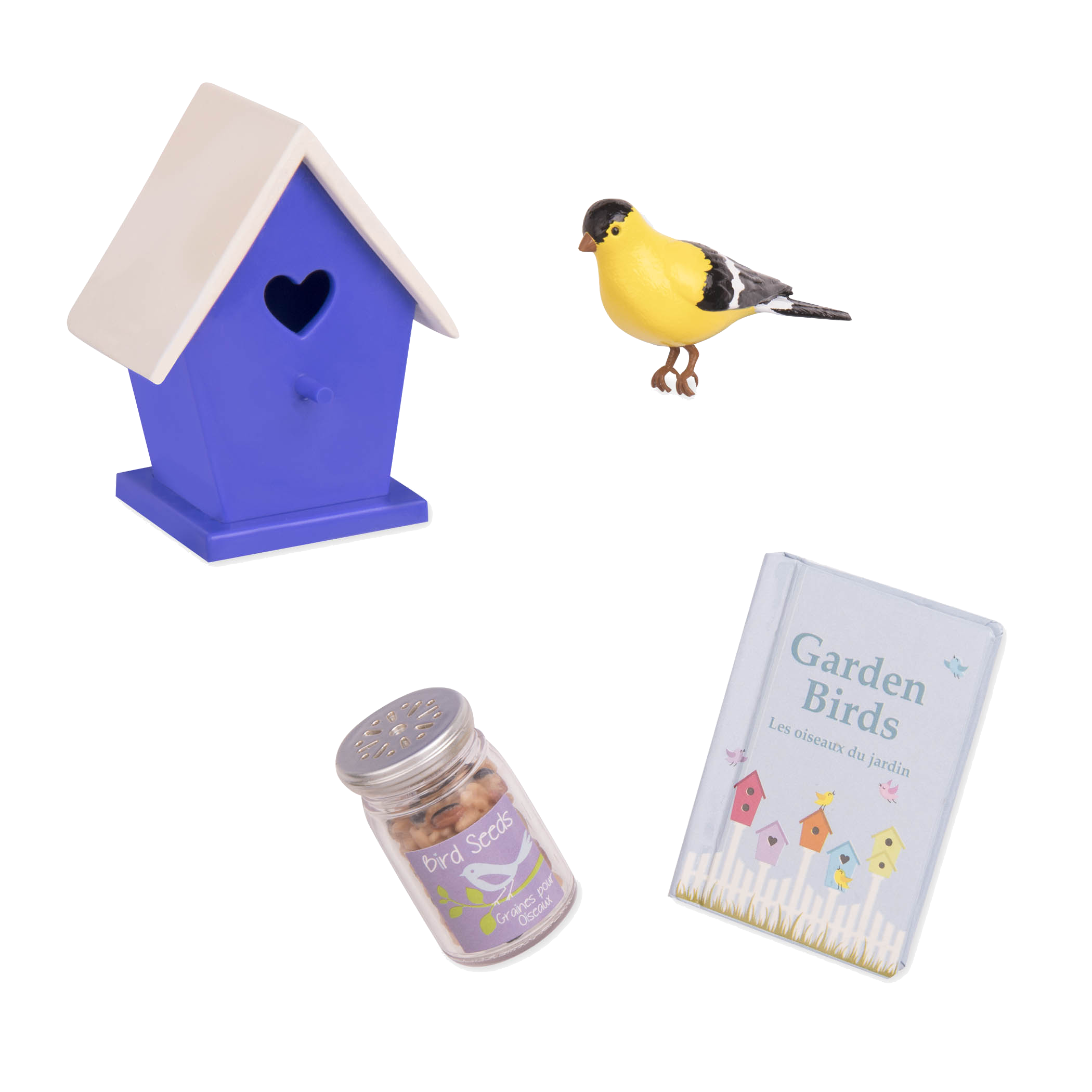 Nest-Door Neighbors Doll Birdhouse set