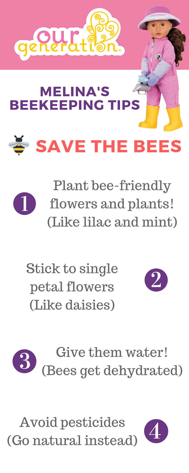 Save the Bees with Melina!