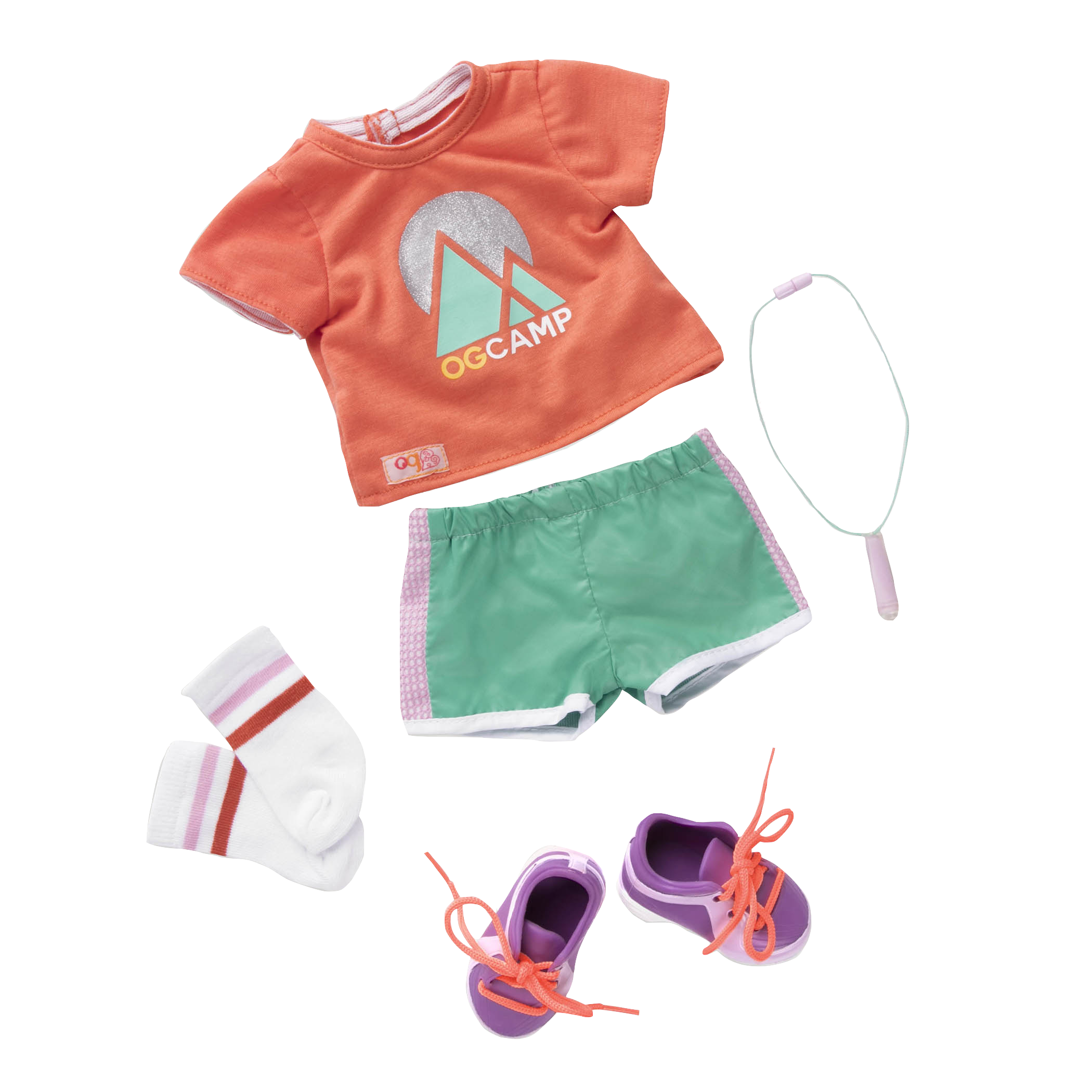 Camp OG Summer Camp outfit for 18-inch Dolls