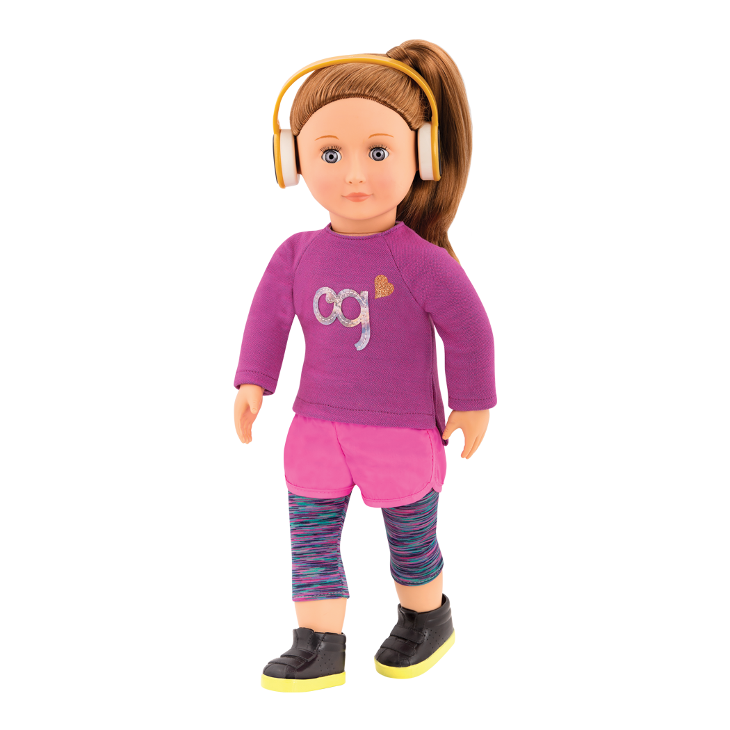 Alicia 18-inch Regular Doll with Sporty Outfit