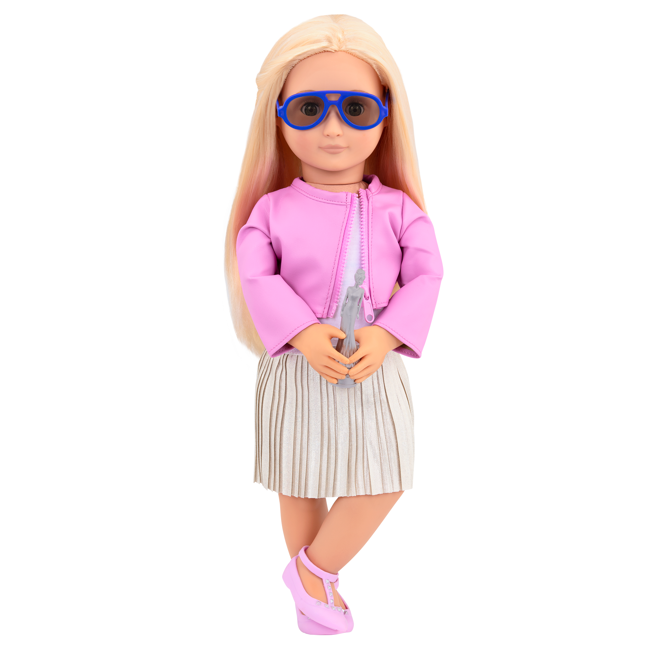 Ginger wearing sunglasses in Winning Wardrobe