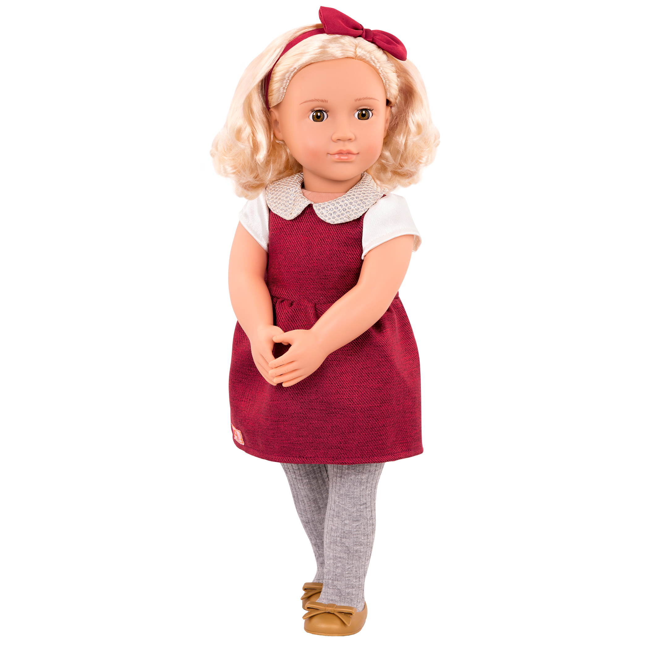 Ivory Regular 18-inch Doll with Sparkly Collar