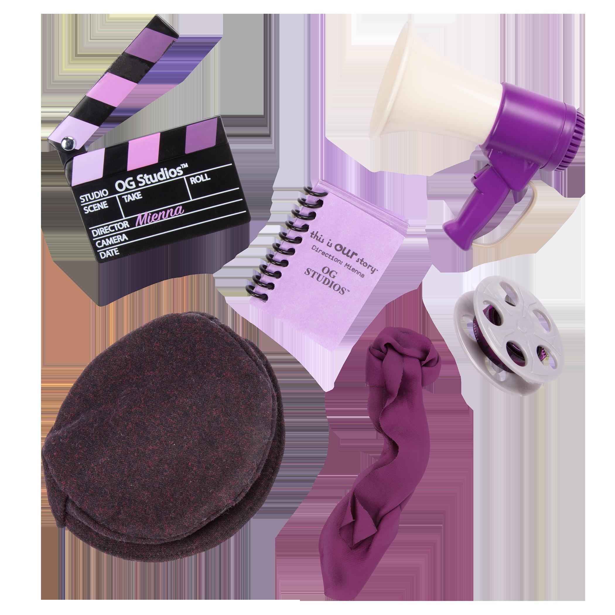 Detail of movie accessories