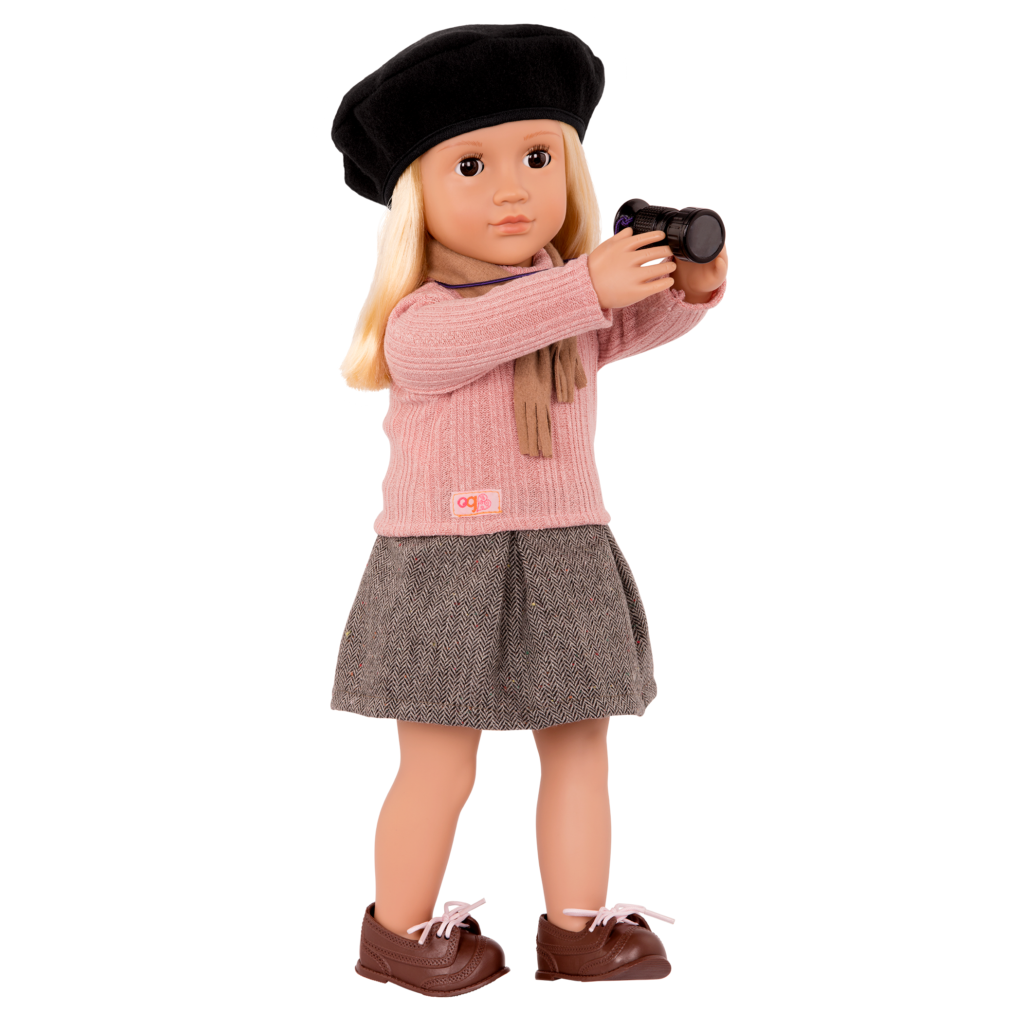 Kathleen Regular 18-inch Director Doll with viewfinder