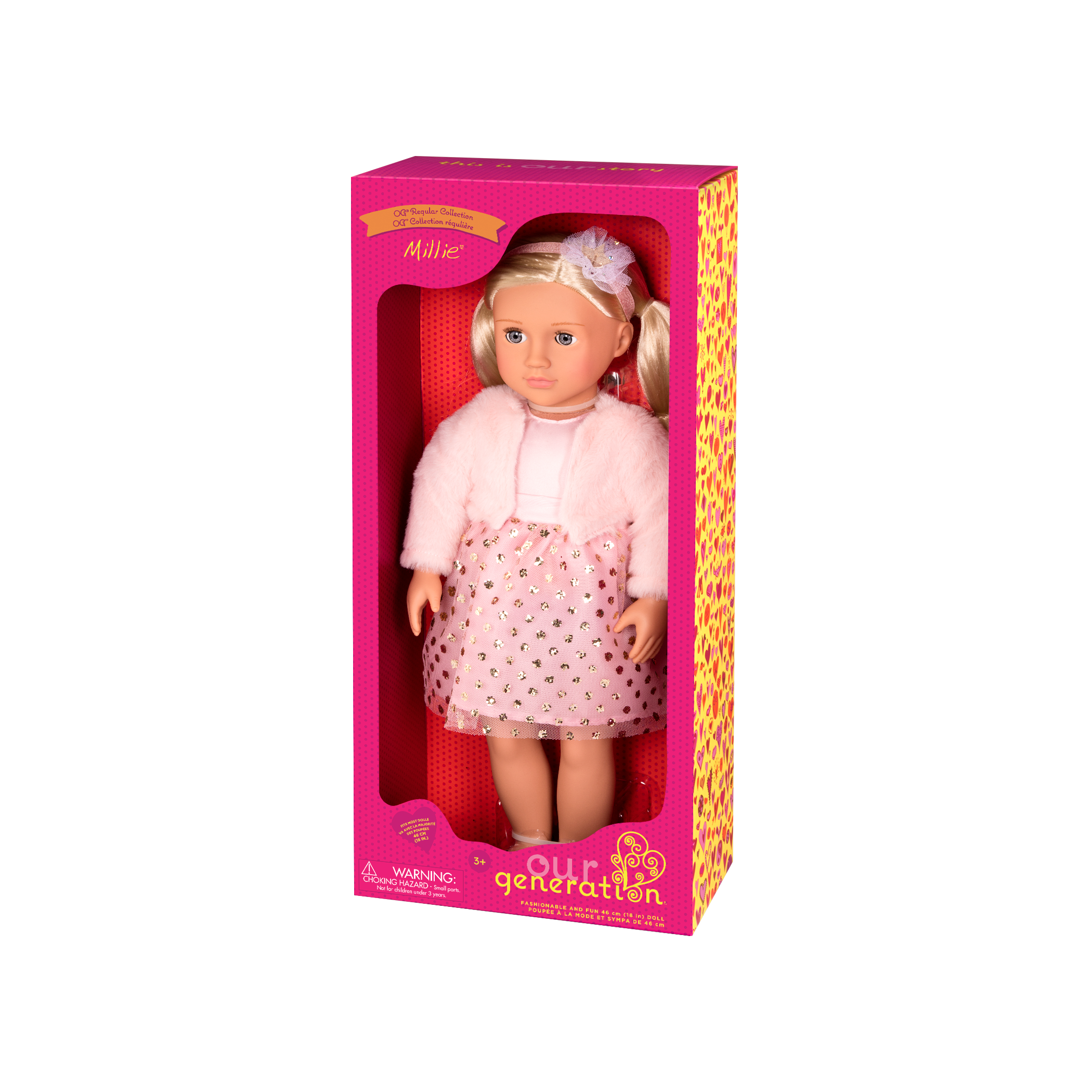 Millie Regular 18-inch Doll in packaging