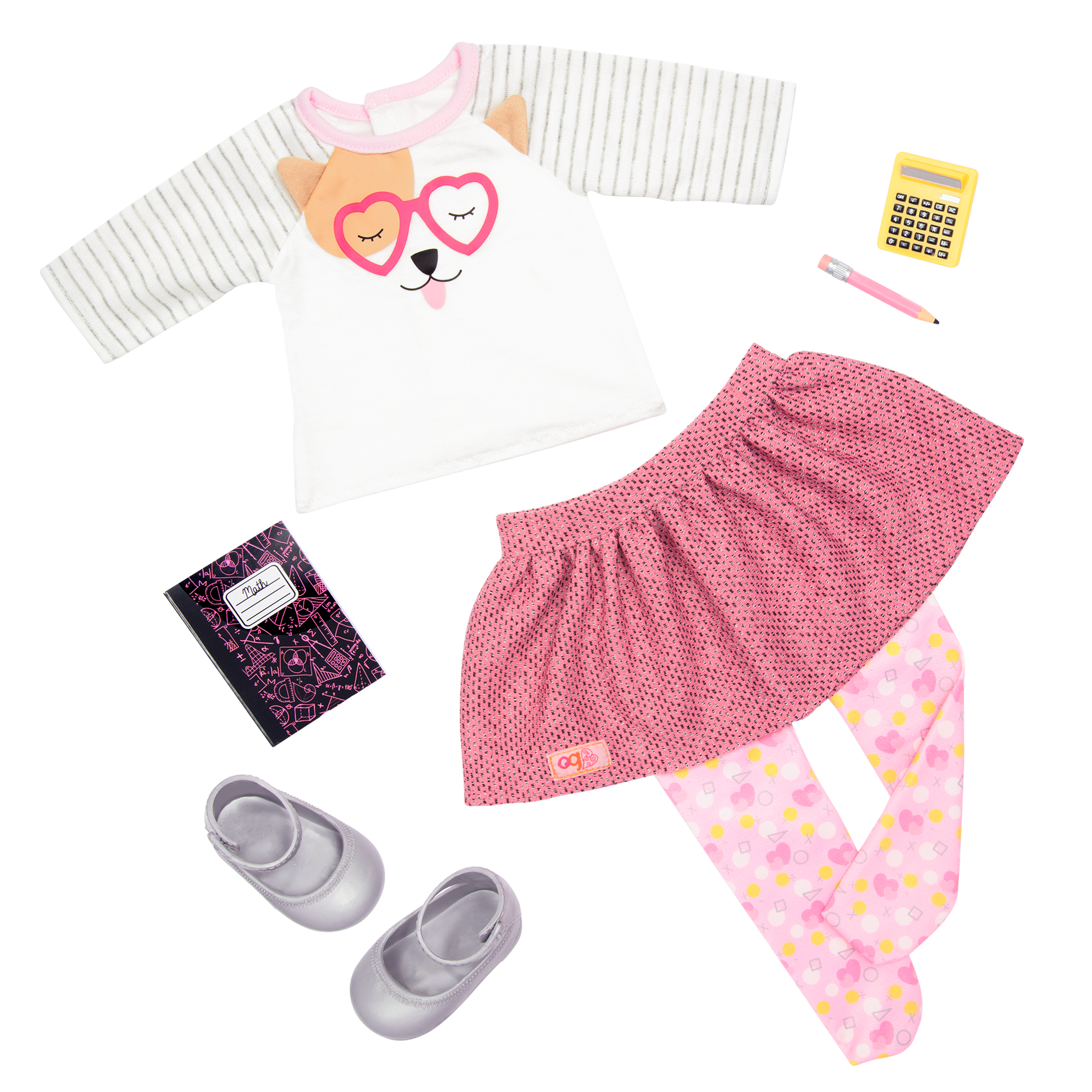 Classroom Cutie - 18-inch Doll outfit