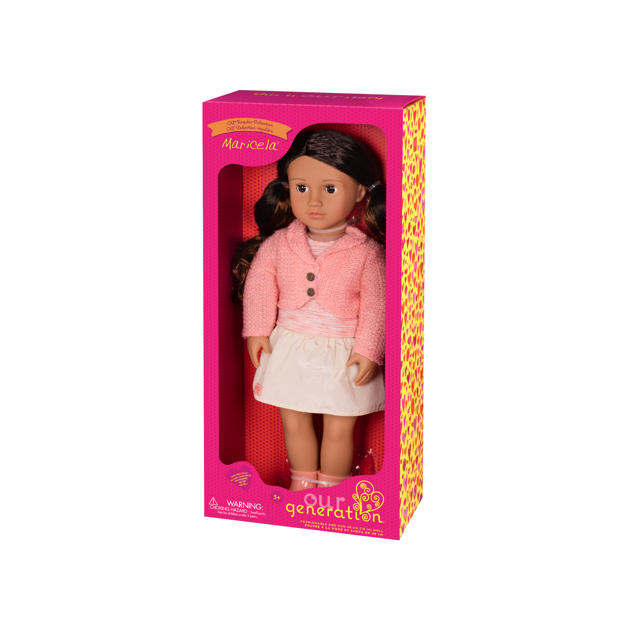 Maricela Regular 18-inch Doll in packaging