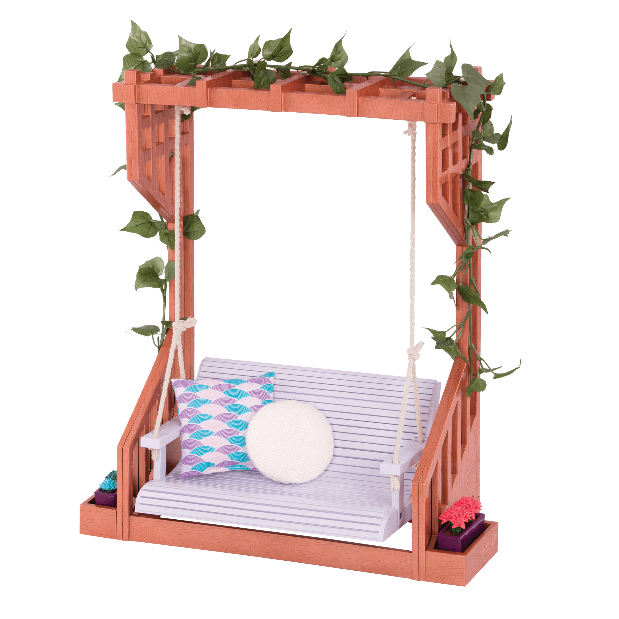 Peaceful Pergola Accessory for 18-inch Dolls