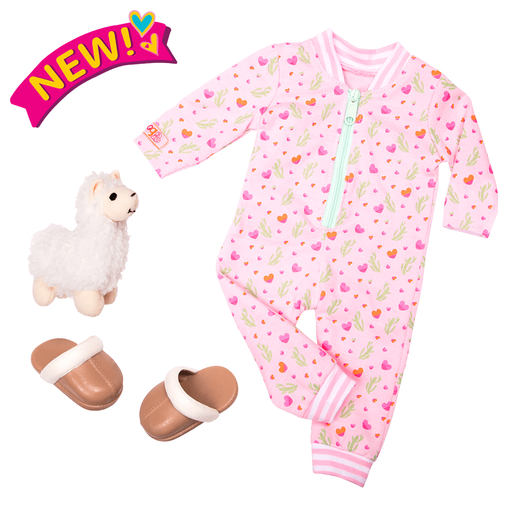 Llama Llullabies - 18-inch Doll Outfit