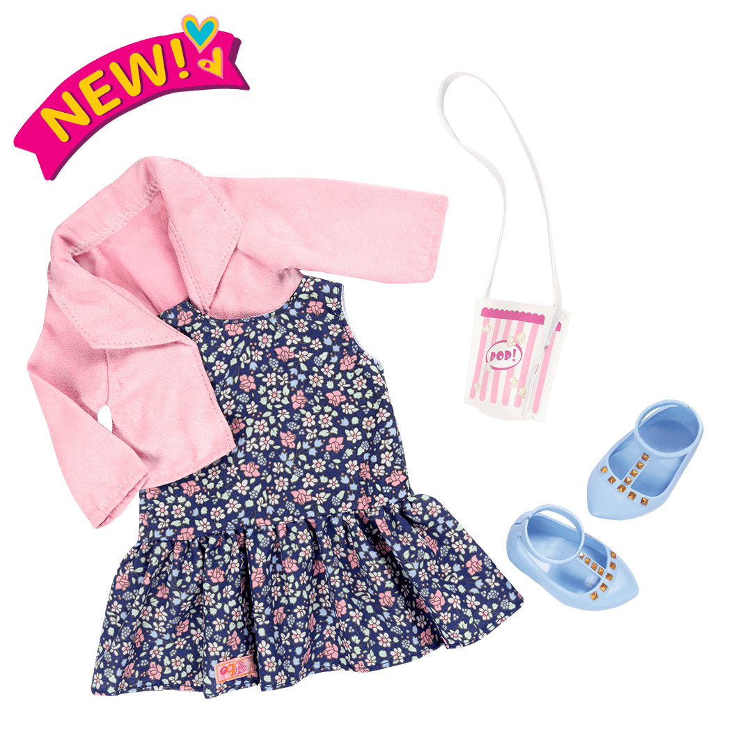 Popcorn Pizazz - 18-inch Doll Outfit