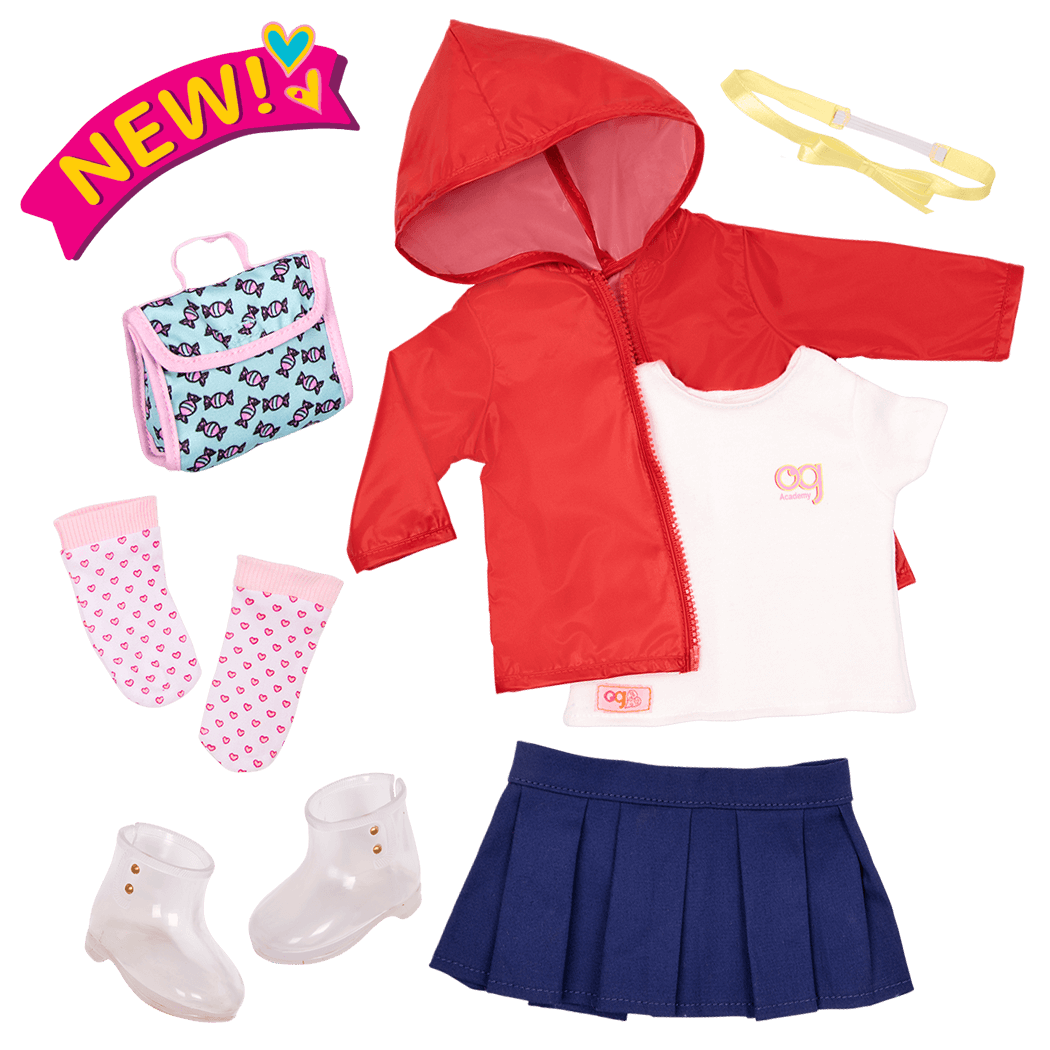 Rainy Recess School Outfit
