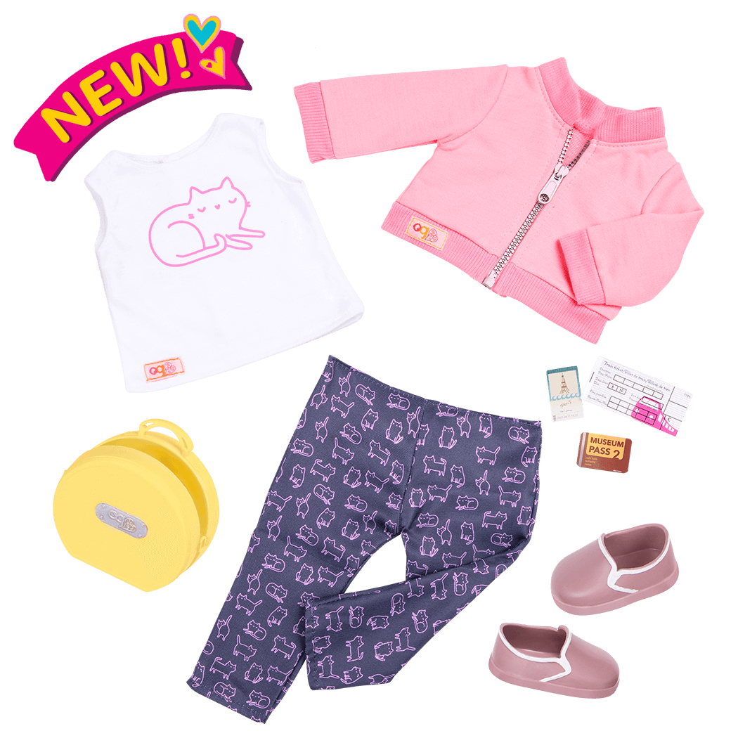 Meow on the Move outfit