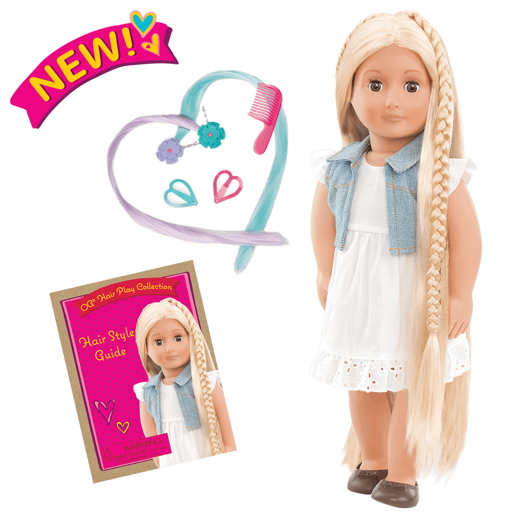Phoebe 18-inch Hairplay Doll