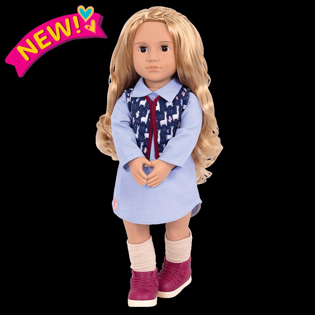 Amalia 18-inch Travel Doll
