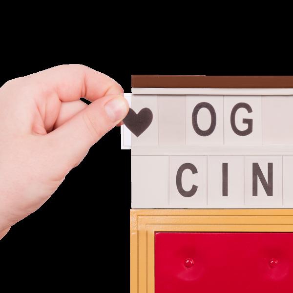 OG Cinema Movie Theater Letters