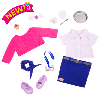 Happy Travels 18-inch doll Outfit