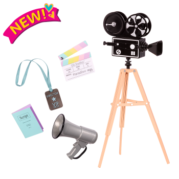 Camera's Rolling Movie Accessory for 18-inch Dolls