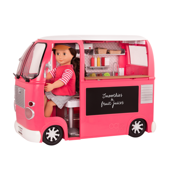 Grill to Go Food Truck Pink with Rayna Driving
