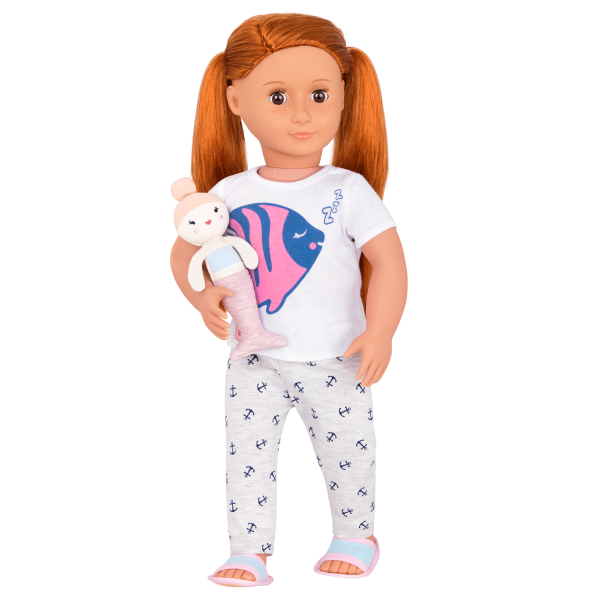 Seaside Sleepover Pajama Outfit with Noa Doll
