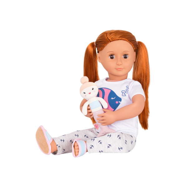 Seaside Sleepover Pajama Outfit with Noa and Mermaid Plush
