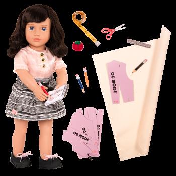 18-inch Fashion Designer Doll Olinda